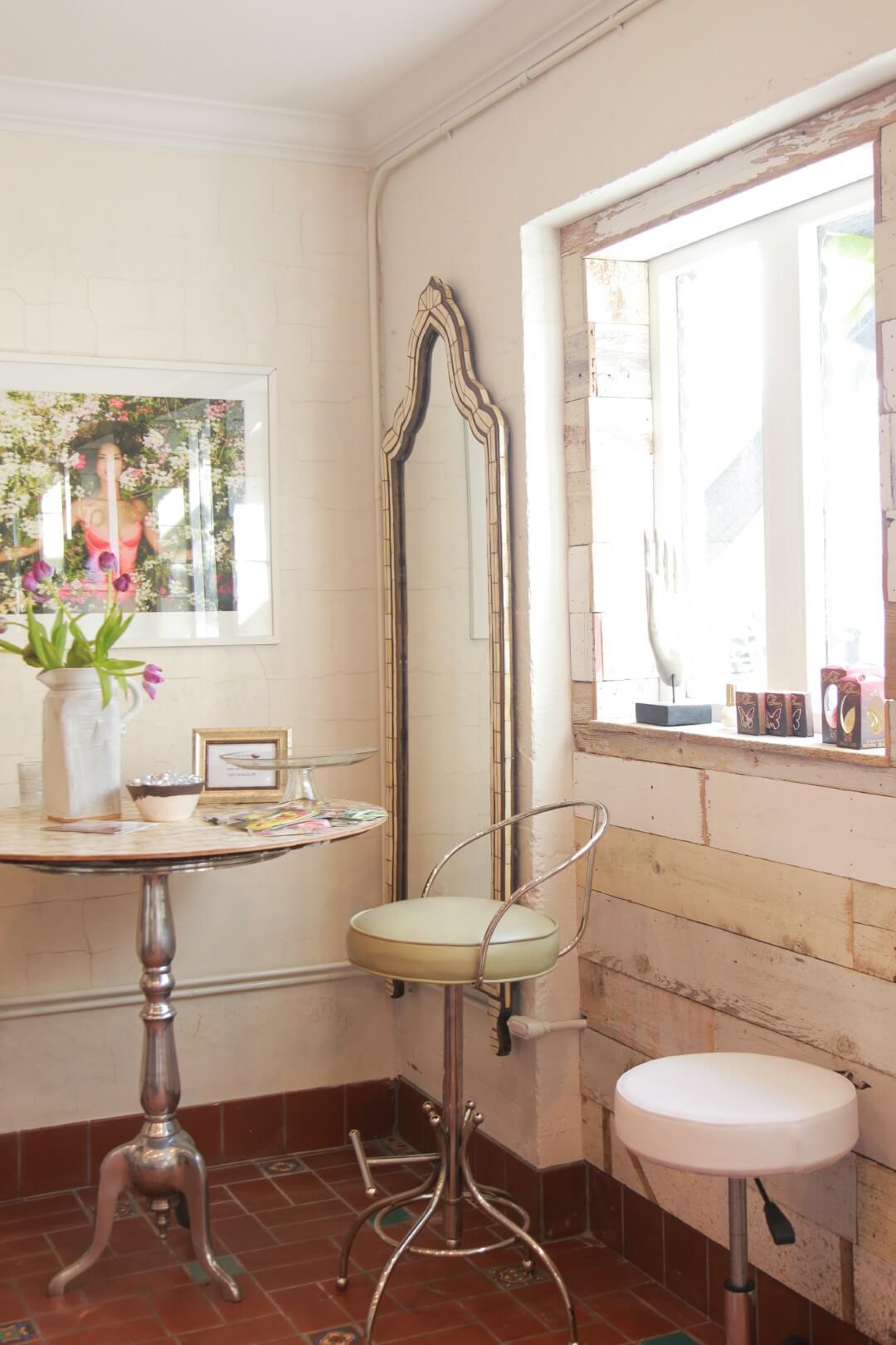 A unique salon glamifornia - Salon boho chic ...