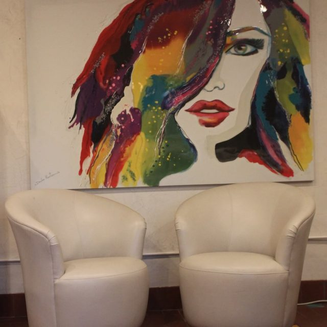 Abstract Art by Dalia Kantor on Display at the GSL