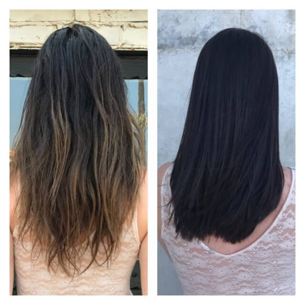 Reverse Sun Damaged Hair With A Smoothing Treatments