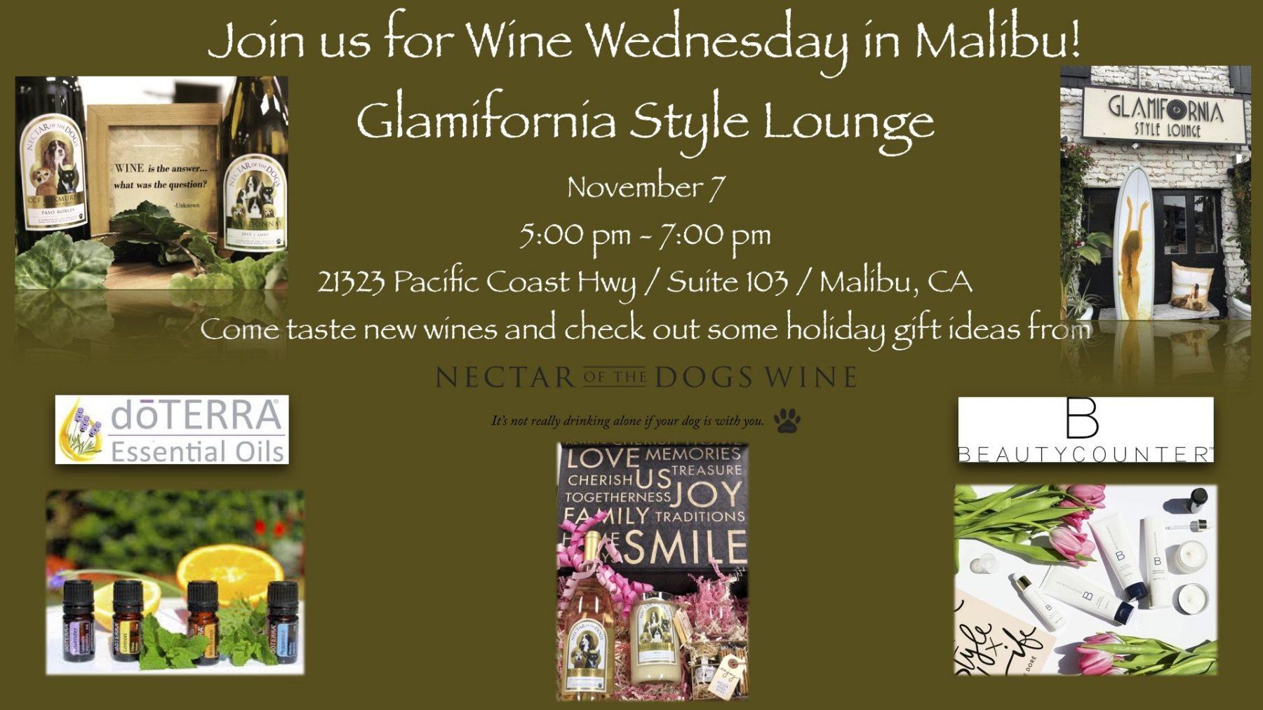 Event flash: Wine Tasting Wednesday