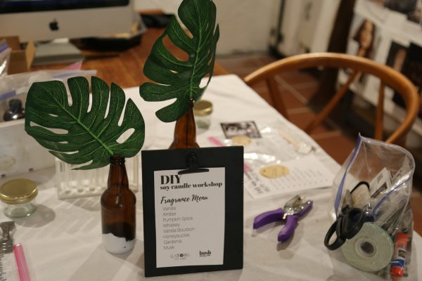 DIY Event: Candle Making With a Custom Scent
