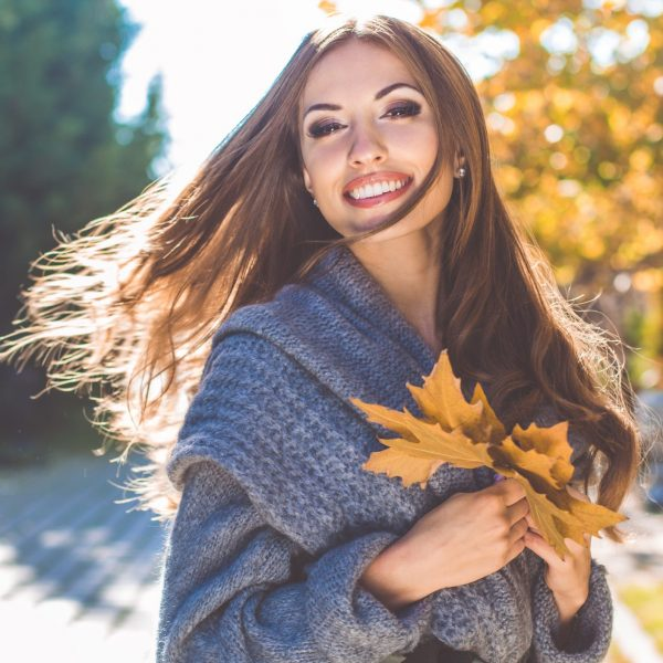 fall hairstyles and fall fashion